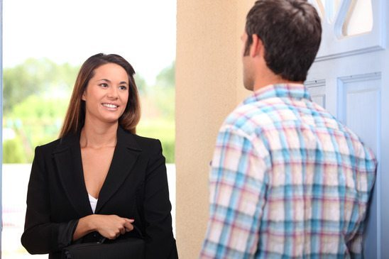 how to be a good door-to-door salesman