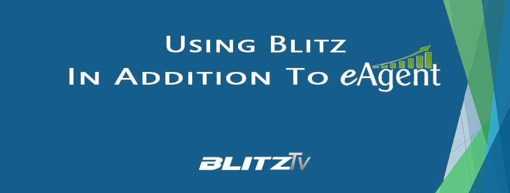 Blitz integrateswith eAgent