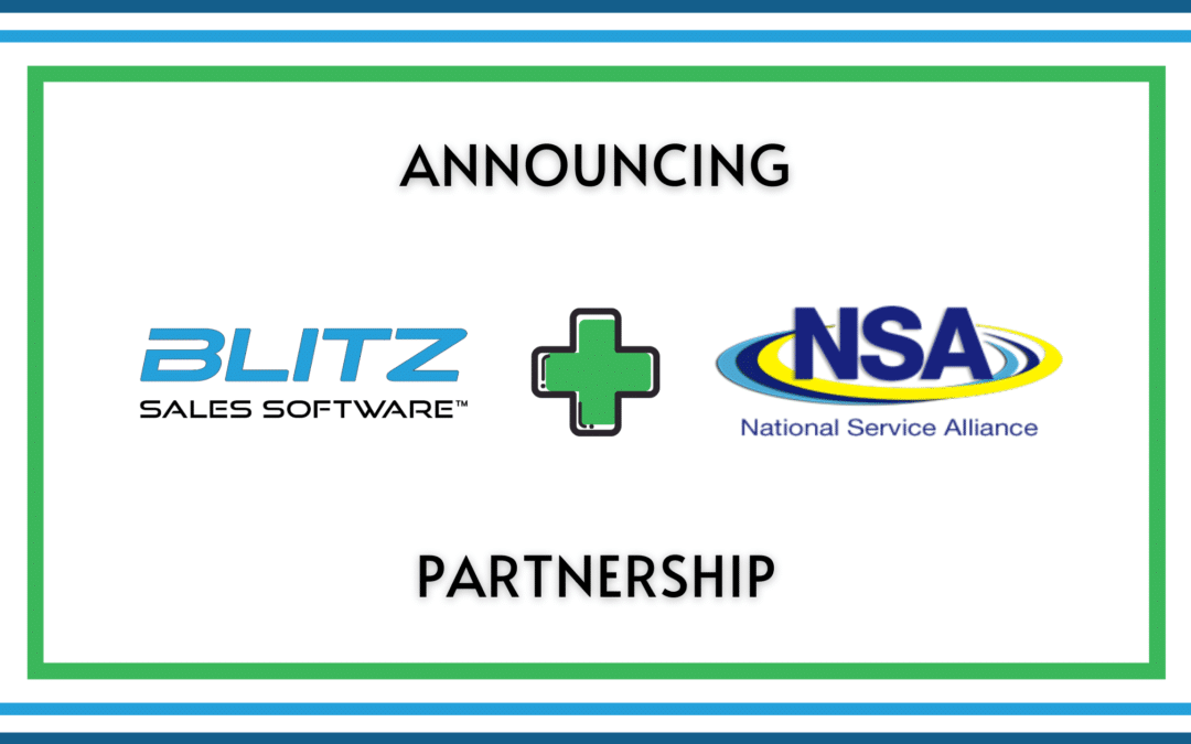 Double A Solutions' Blitz Sales Software Announces New Partnership with National Service Alliance
