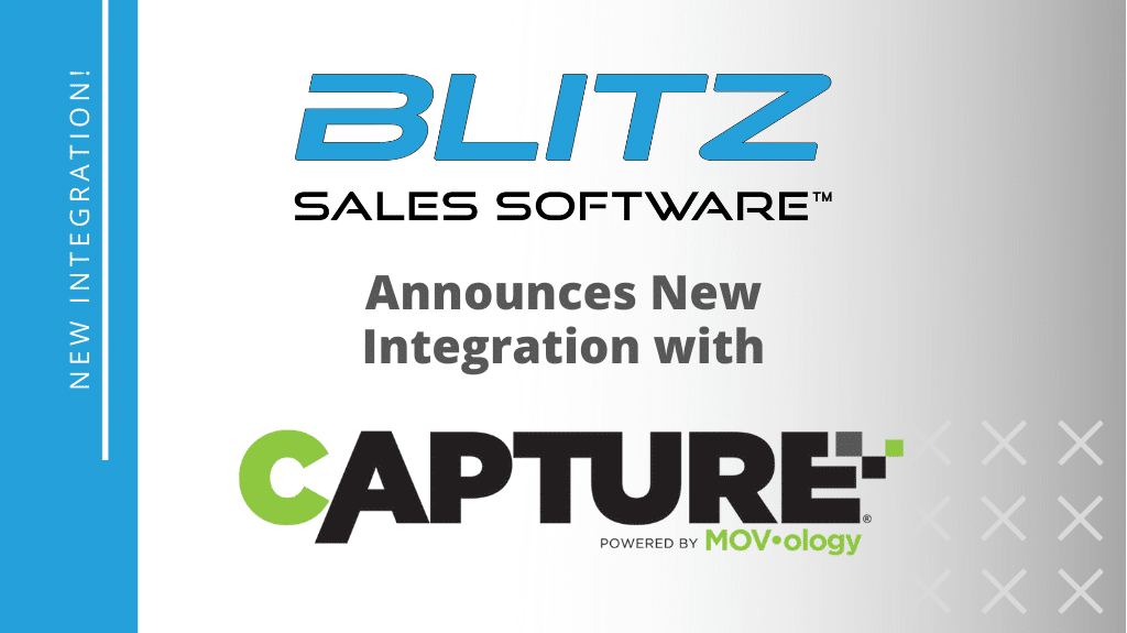 Blitz announces their new integration with Capture